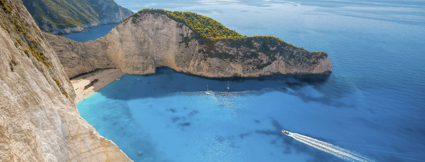 On the Beatiful Island of <strong>Zakynthos</strong>